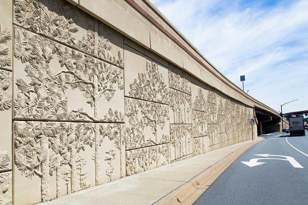 Highway walls